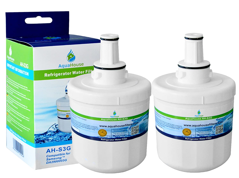 2x AH-S3G filtro de agua compatibles para Samsung nevera DA29 ...