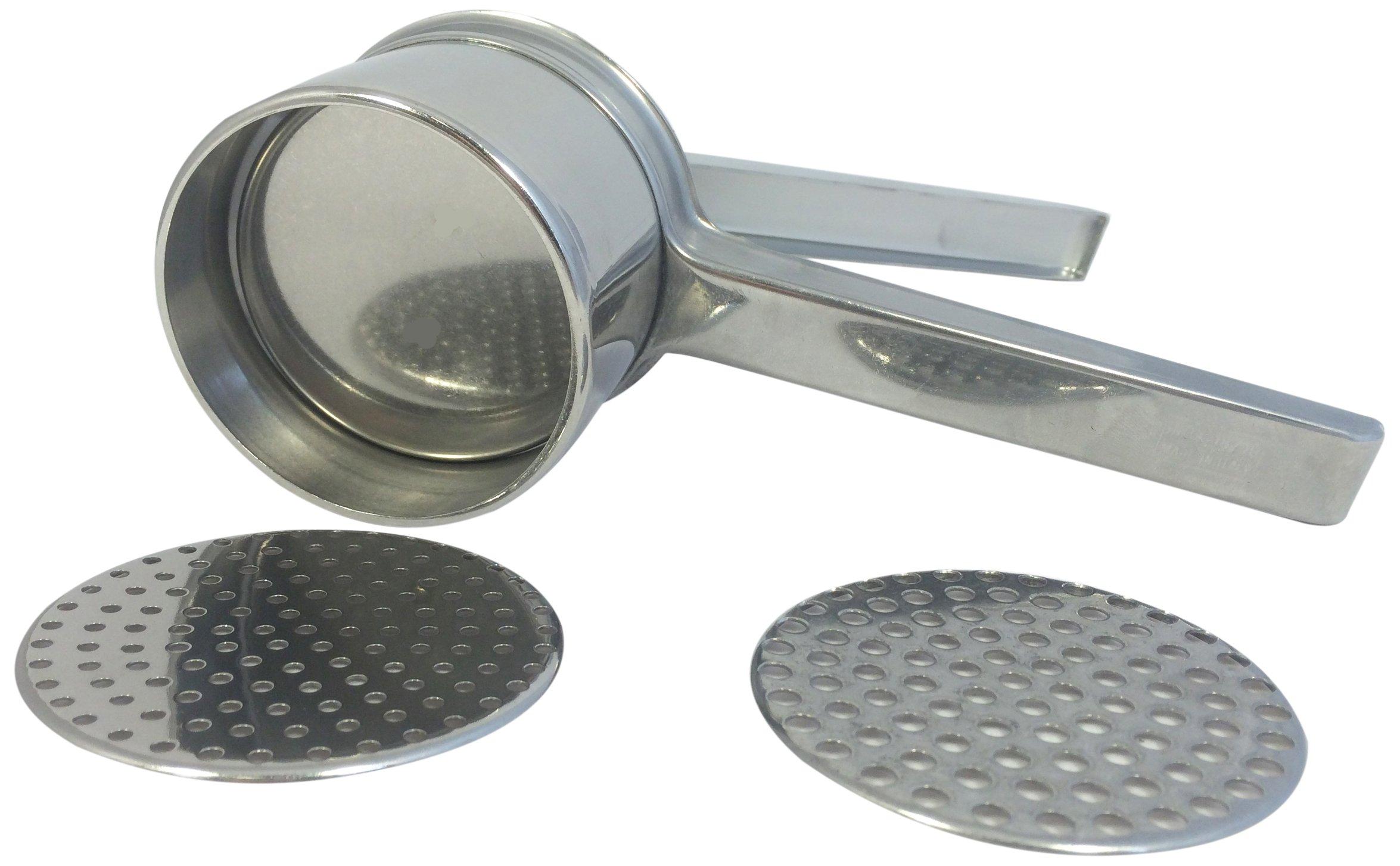 Eppicotispai Stainless Steel Potato Masher/Ricer with 2 Inserts by Eppicotispai