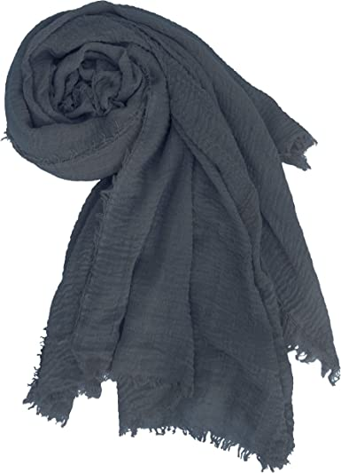 Cotton Hijab Headscarf High Quality Shawl Summer Lightweight