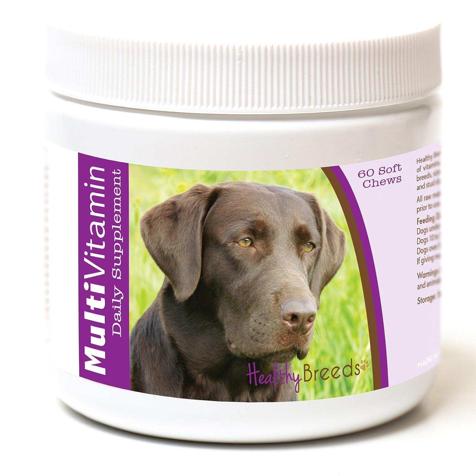 Healthy Breeds Dog One A Day Vitamin Labrador Retriever, Dark Brown - 1