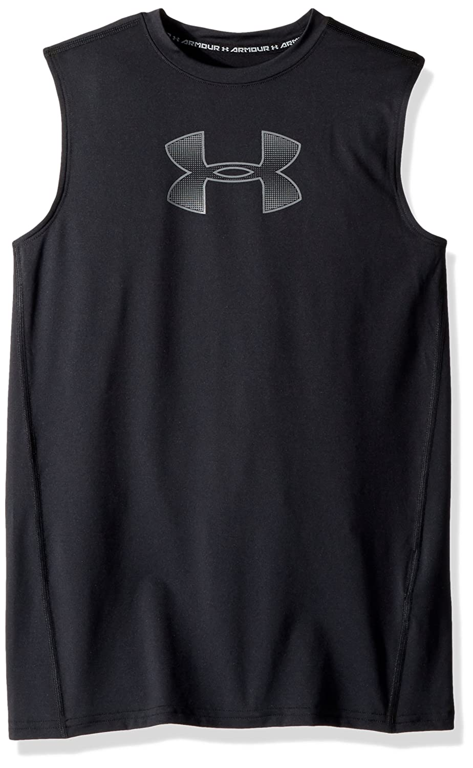 Under Armour Boys' HeatGear Armour Sleeveless Fitted Shirt Under Armour Apparel 1289956
