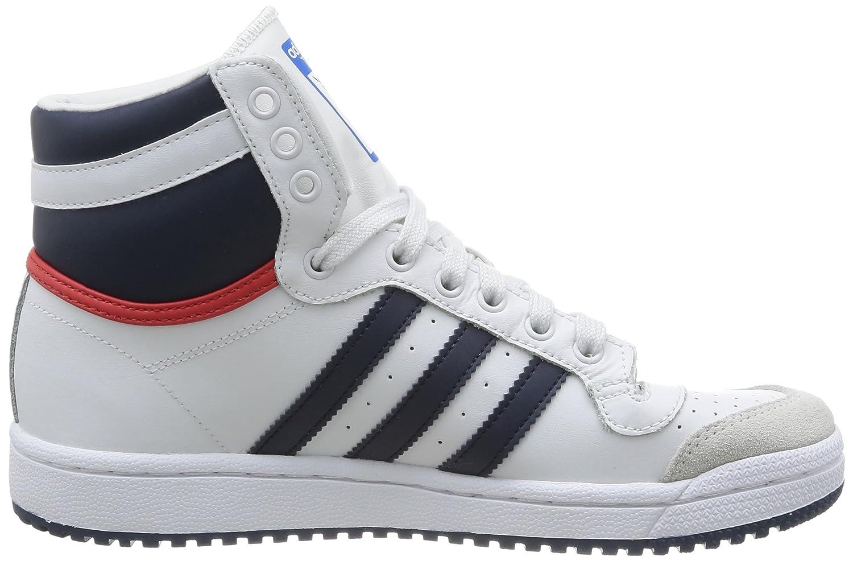 adidas Top Ten Hi J, Scarpe Sportive, Ragazzo, Blanco/Rojo, 36 2/3:  Amazon.it: Scarpe e borse