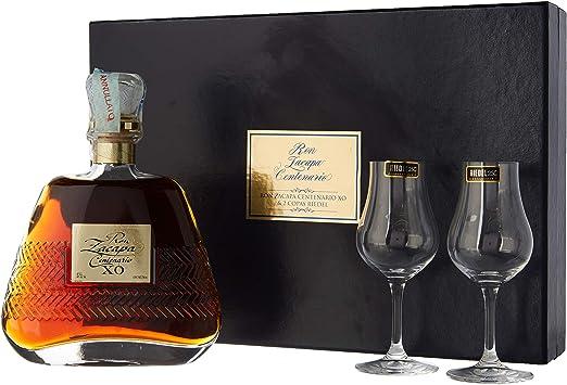 Ron Zacapa Centenario XO Riedel Set Old Edition Rum - 700 ...