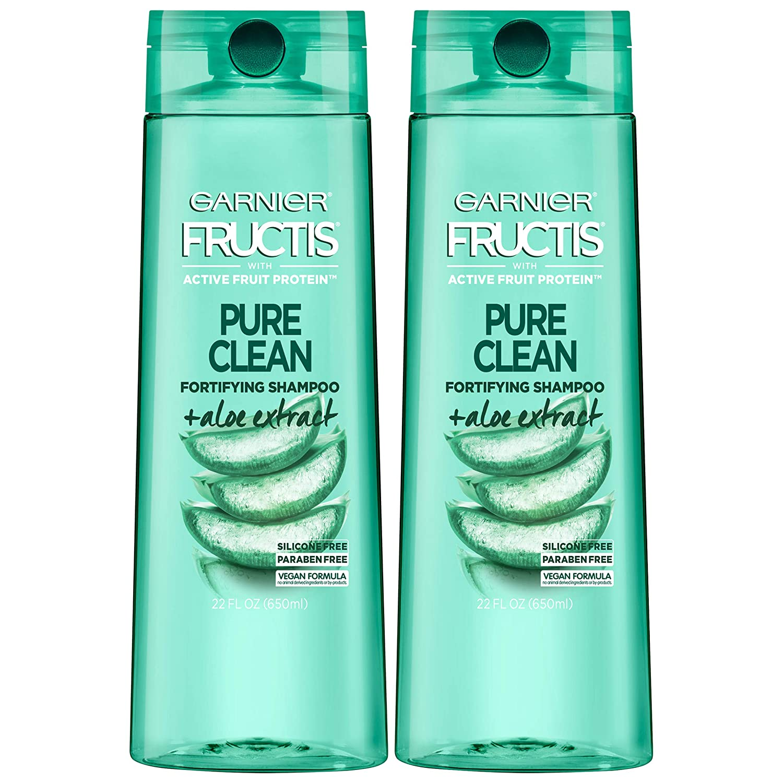Amazon Com Garnier Fructis Pure Clean Shampoo 22 Fl Oz 2 Pack Beauty