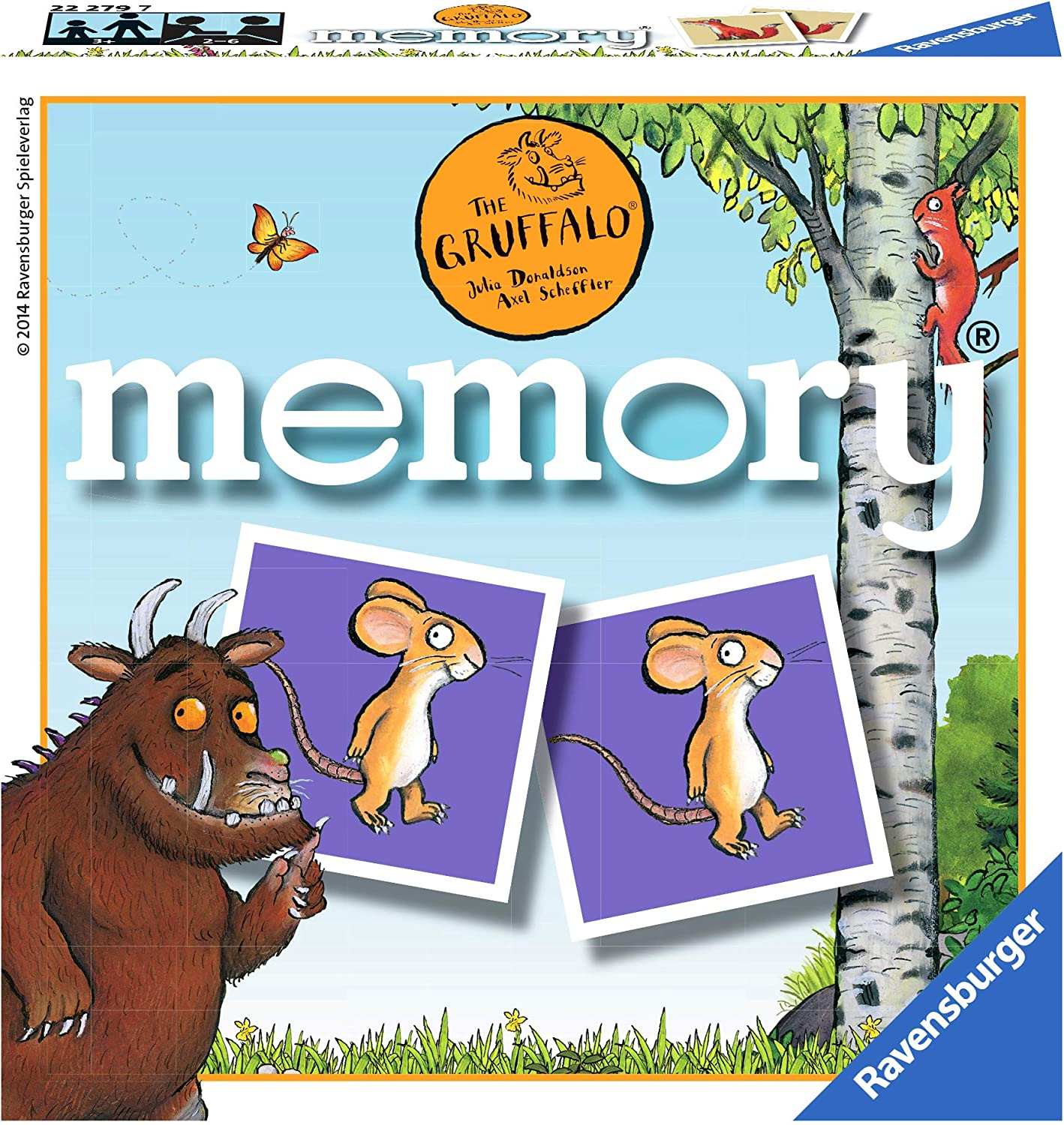 Ravensburger Mini Memory Game The Gruffalo 22279