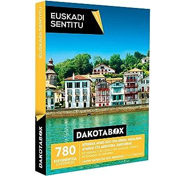 DAKOTABOX - Caja Regalo - EUSKADI SENTITU - 780 esperientzia Euskadi sentitzeko / 780 Experiencias para sentir Euskadi: Amazon.es: Deportes y aire libre