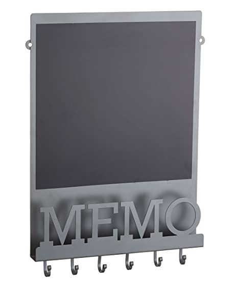 KitchenCraft Living Nostalgia Magnetic Memo BoardChalkboard Grey Gorgeous Black Magnetic Memo Board