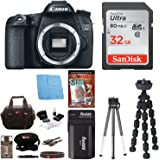 Canon EOS 70D 20.2 MP Digital SLR Camera (Body Only) with Advanced Accessory Kit