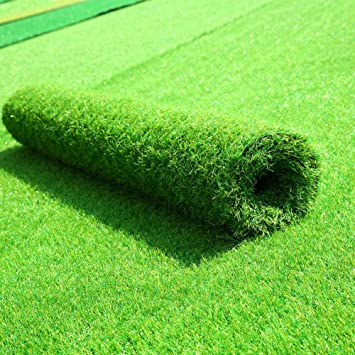 Luyue Artificial Grass Rug Turf Artificial Lawn Carpet With Drainage Holes  Indoor Outdoor Landscape (16ft