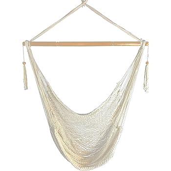 Amazon Com Mayan Hammock Chair Large Cotton Rope