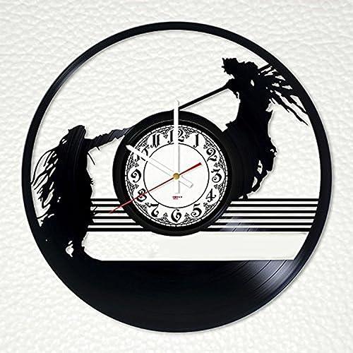 Modern Decorative Handmade Vinyl Record Wall Clock Get unique bedroom or  living room wall decor. Handmade Home Decoration Items Video   Arudis com