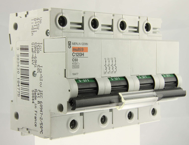 Schneider elec pbt - dit 17 11 - Interruptor magnetotérmico c120h ...