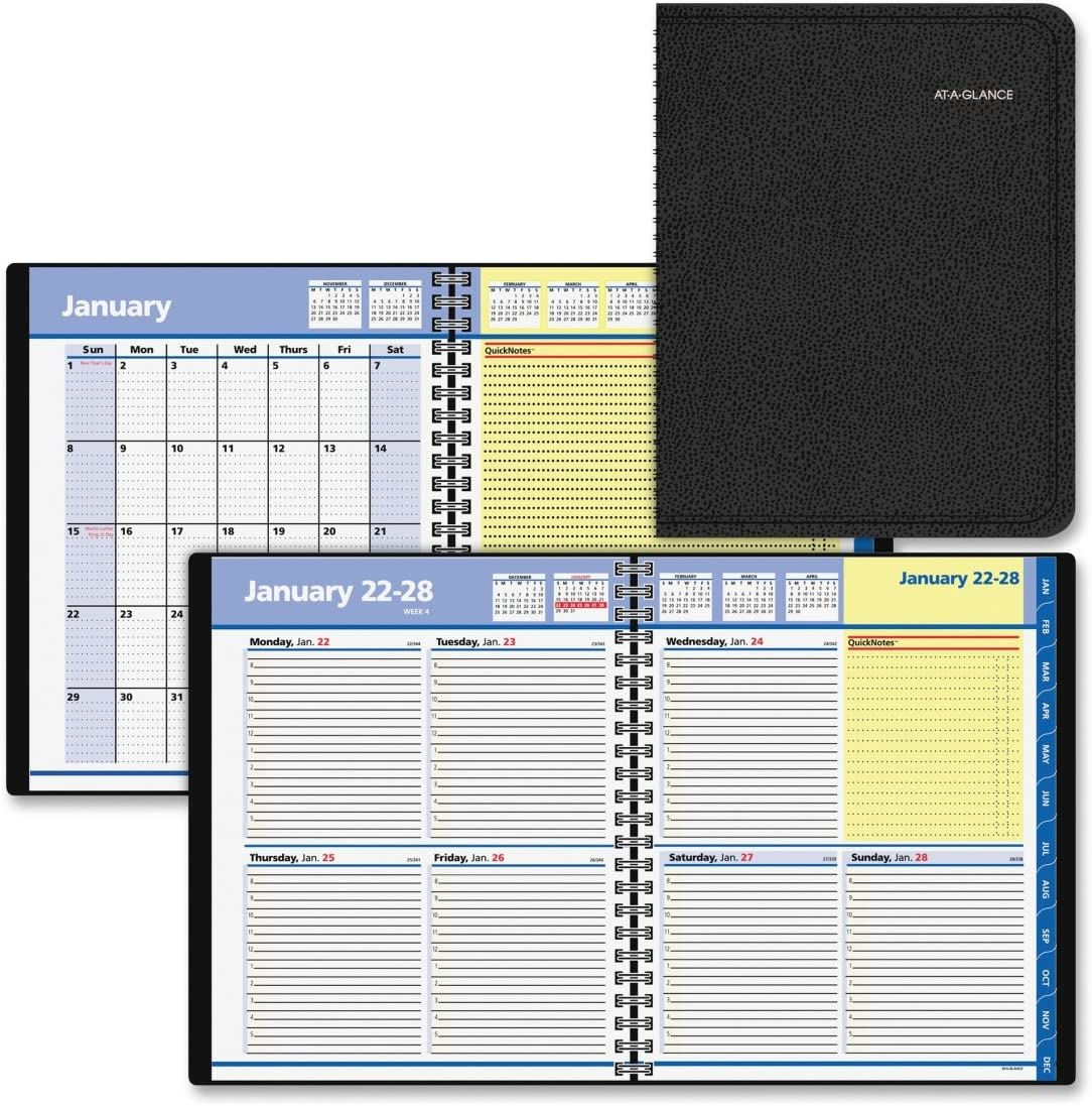 AAG760605 At-A-Glance QuickNotes Monthly Mnagement Planner