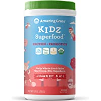 Kidz Protein + Probiotics Strawberry Blast