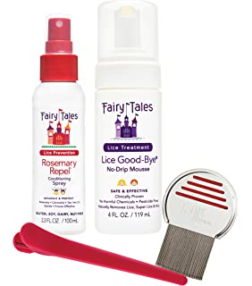 Fairy Tales Lice Good-Bye Survival Kit for Kids, 4 oz