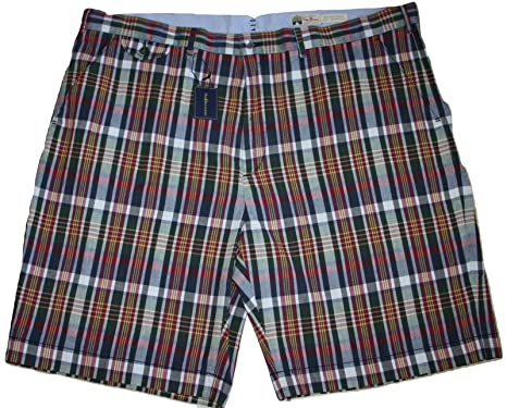 Polo Ralph Lauren Plaid Indigo Madras Shorts (35)