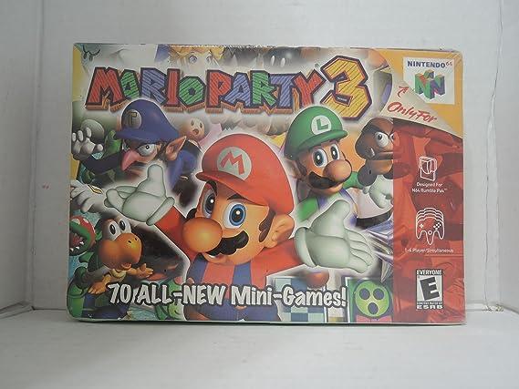 N64 - Mario Party 3: Amazon.es: Videojuegos