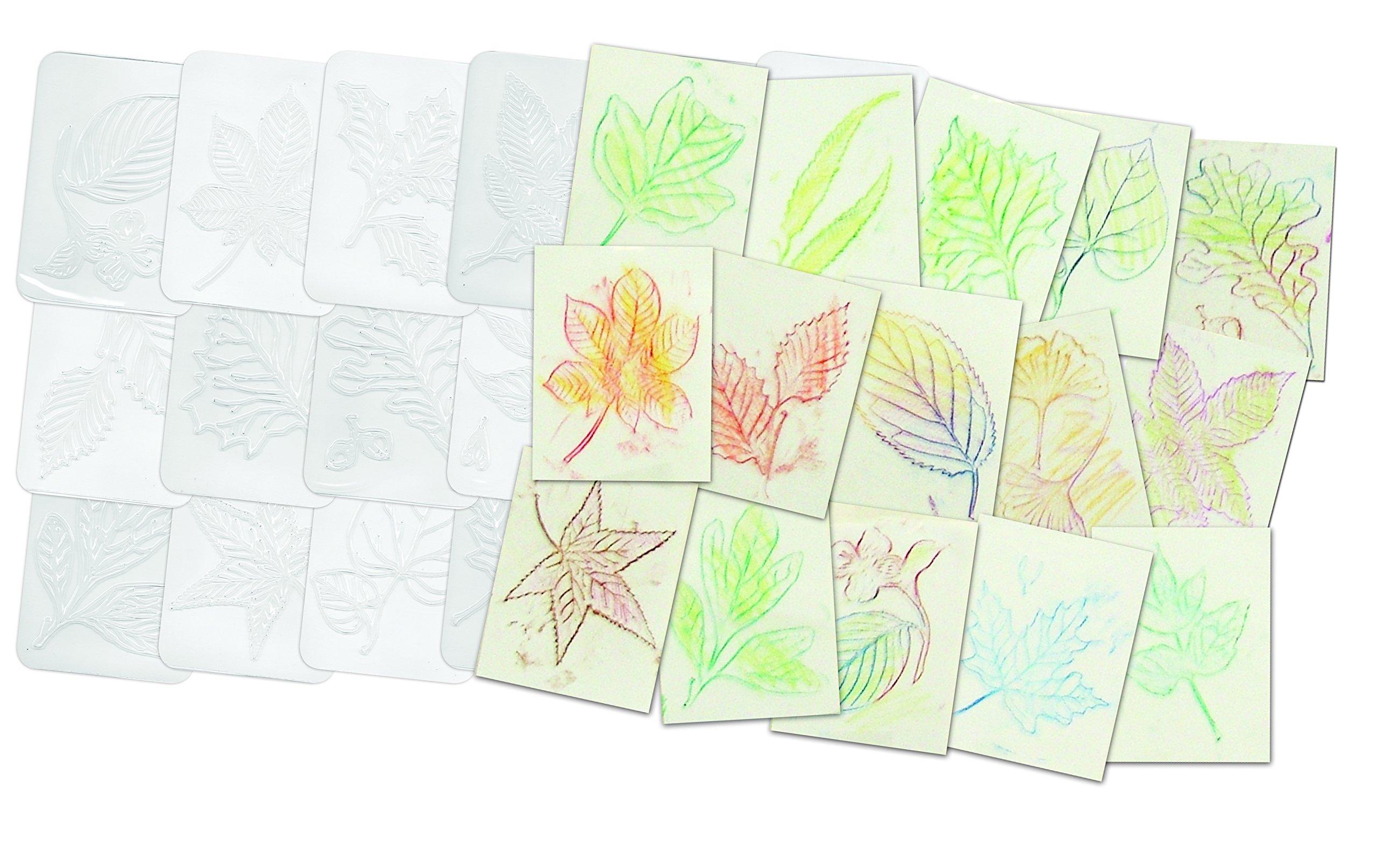 Roylco Leaf Rubbing Plates by Roylco