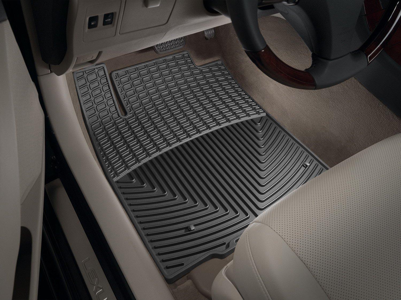 Black W174 WeatherTech Trim to Fit Front Rubber Mats for Lexus ES