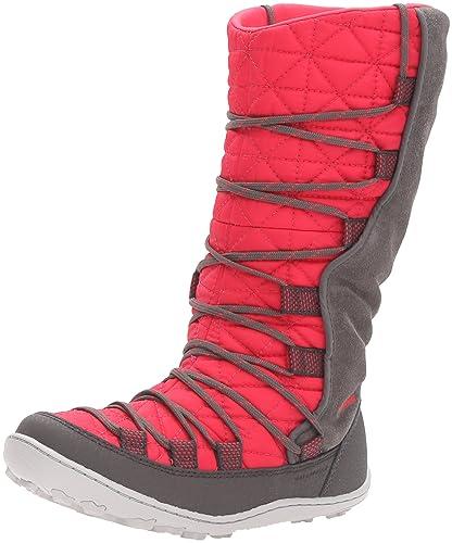 Columbia Kids' Youth Loveland Omni-Heat-K Snow Boot, Punch Pink/