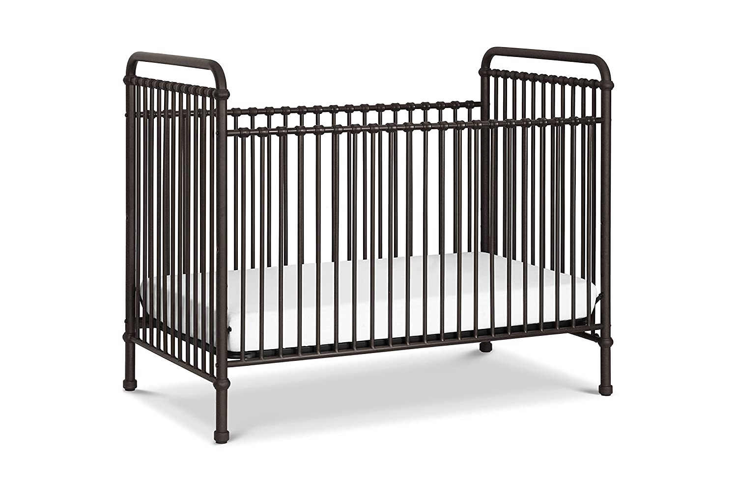 Million Dollar Baby Classic Abigail 3-in-1 Convertible Crib in Vintage Iron