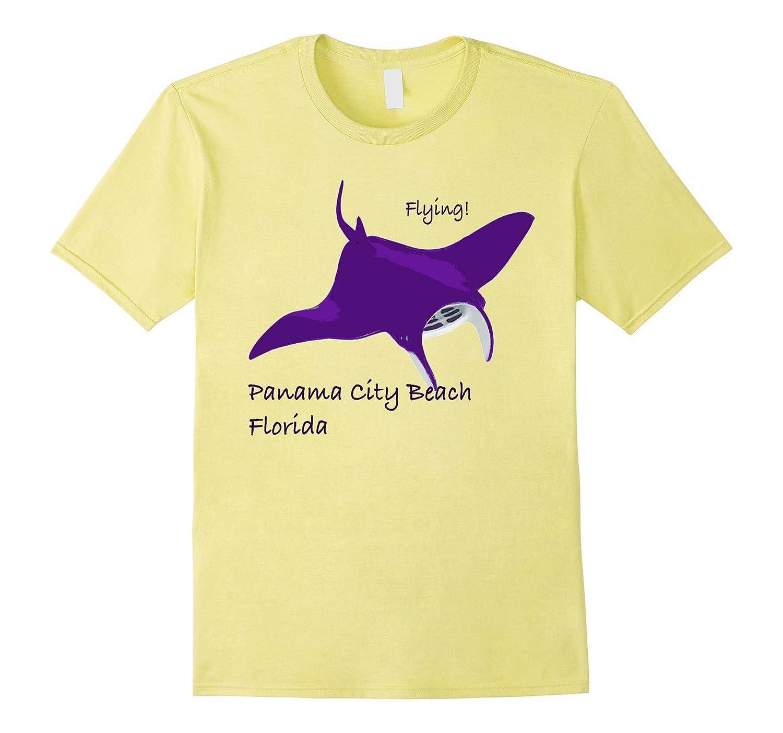 Panama City Beach Florida Flying Manta tee shirt-CD