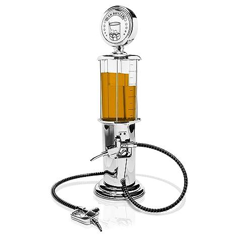 """Dispensador de bebidas en el diseño de """"bomba de gasolina"""" - Plata aprox"""