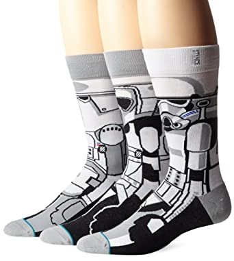 Stance - Stance Star Wars Trooper Calcetines Blanco Unisex adulto, blanco, Large / X-Large: Amazon.es: Ropa y accesorios
