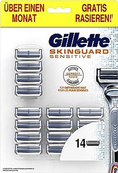Gillette SkinGuard Sensitive - Paquete de piel sensible para ...