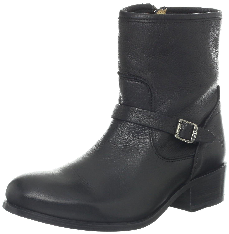FRYE Women's Lynn Strap Short Boot B00BG0H4UW 6.5 B(M) US|Black