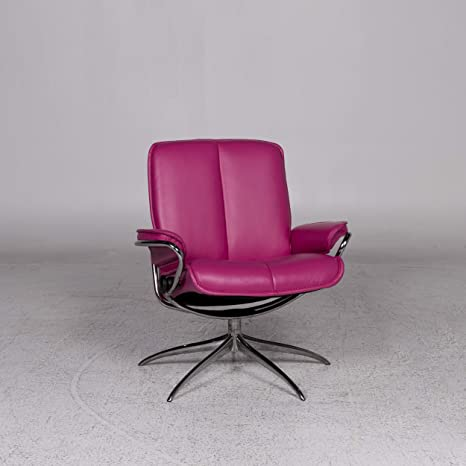 Stressless City Designer Leather Armchair Pink: / SANAA ...