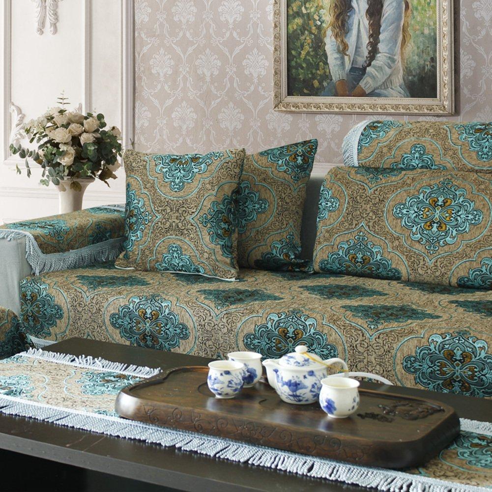 [fashion],European style, luxury,Sofa cushions/cushion/slip sofa towel-A 90x260cm(35x102inch)