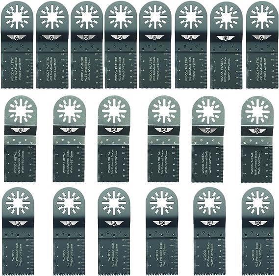 Universelle für Bosch Makita Milwaukee Mix Oszillierende Multi-Tool Klingen 10X
