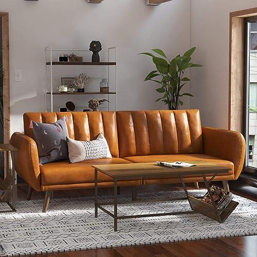 Novogratz Brittany Futon - a good cheap living room sofa