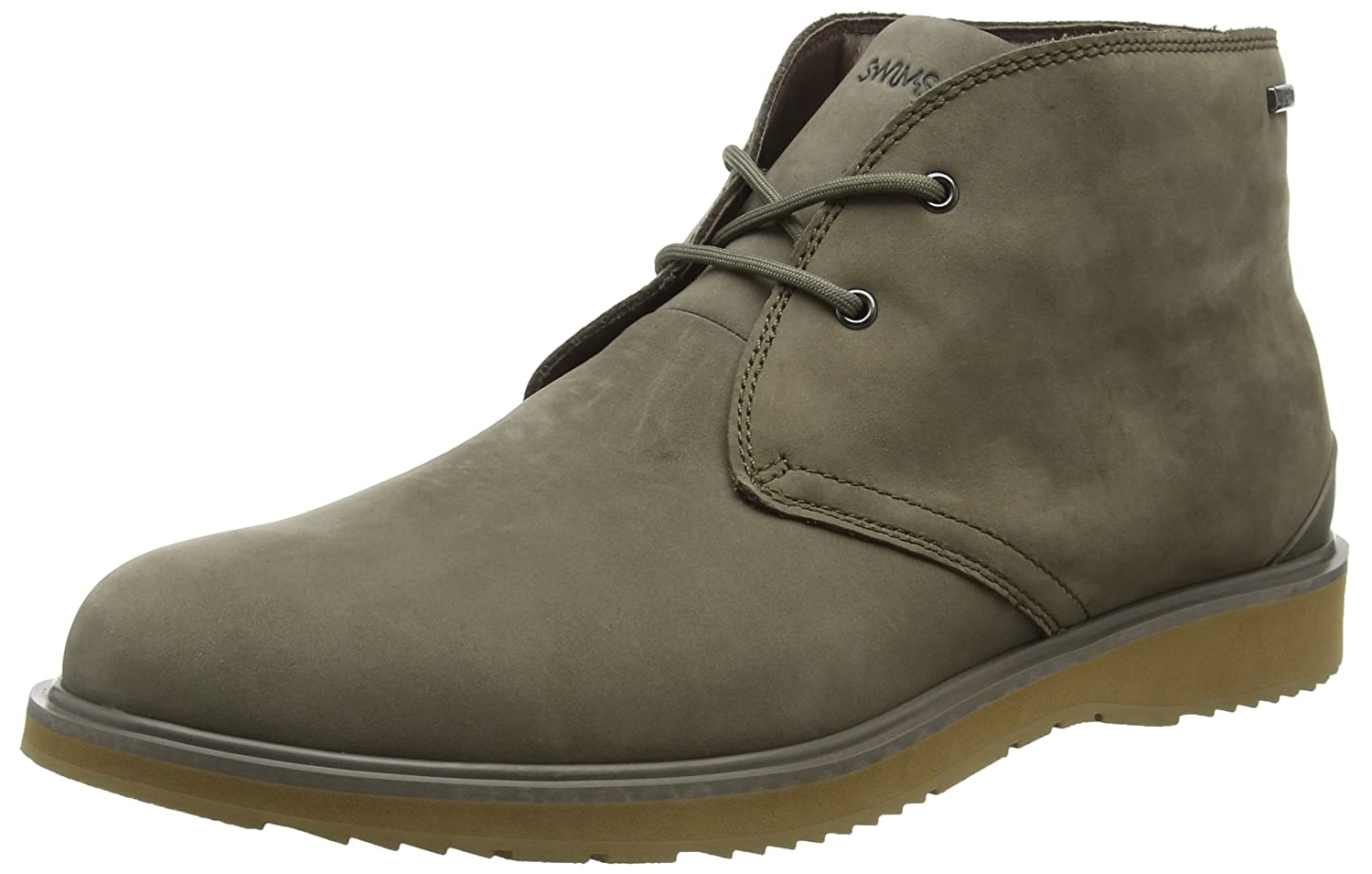 New Swims Barry Chukka Taupe/Biscuit 8 Mens Boots