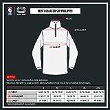 Ultra Game Men's NBA Quarter Zip Pullover Shirt