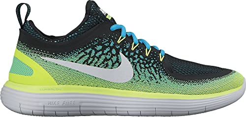 090893a7537d6 Nike Men s Free RN Distance 2 Chlorine Blue Running Shoes-10 UK India(