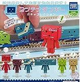 コンテナダンボー ガチャコレクション TOMIX DANBOARD Nゲージ よつばと! 鉄道模型 アニメ フィギュア ガチャ タカラトミーアーツ 全6種フルコンプセット