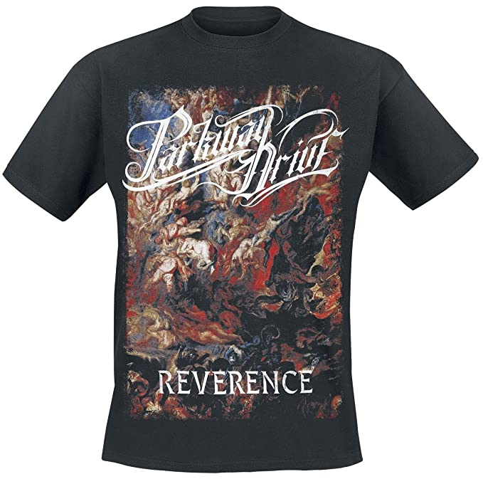 Parkway Drive Reverence - Cover Camiseta Negro eJMkR70Xgr