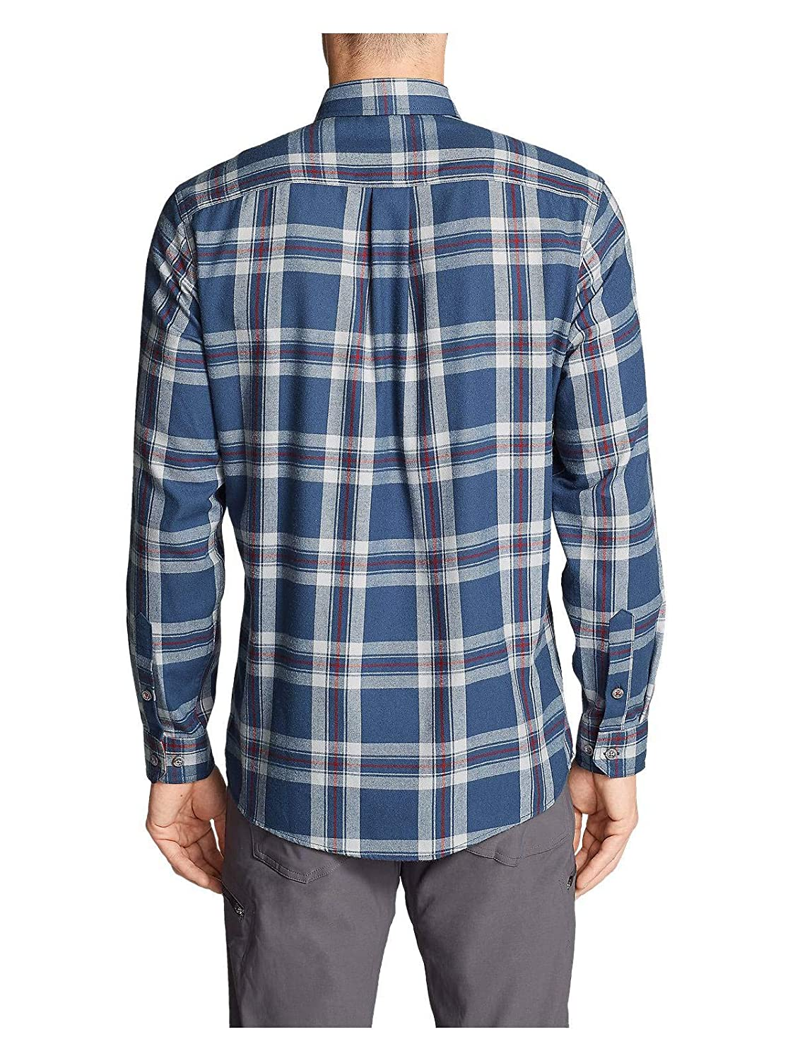730f4513170 Eddie Bauer Men's Expedition Performance Flannel Shirt at Amazon Men's  Clothing store: