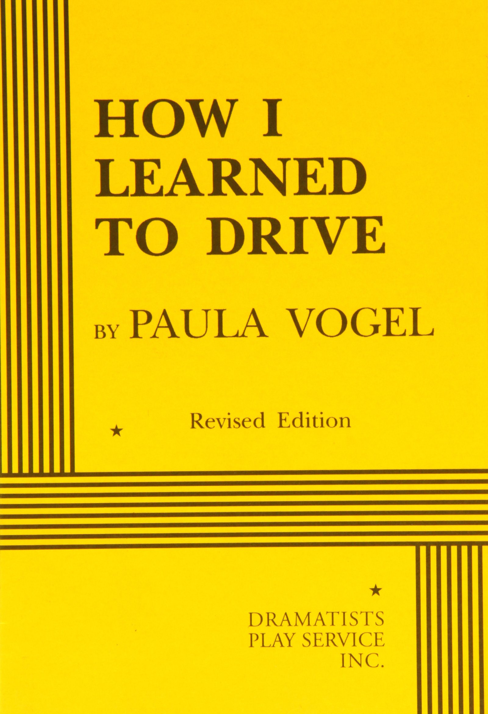 How I Learned to Drive (Acting Edition for Theater Productions)