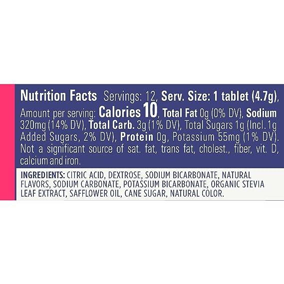 GU Energy Pastillas Disolventes de Electrolitos con Fresa Limonada - 96 Unidades: Amazon.es: Alimentación y bebidas