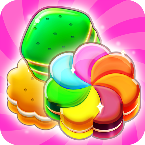 Cookie Crush Match 3 Game Free Puzzle Games - New Cookie Blast 2018 for Girls and Kids