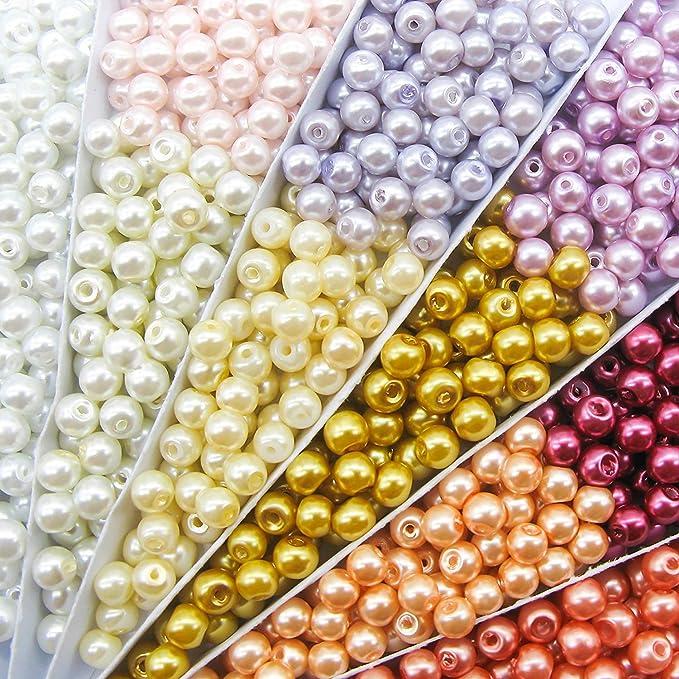 2.5 x 6mm Copper approx 150 beads Topaz hanging tube Rizo\u00ae Magic Copper beads 10 grams Amber beads