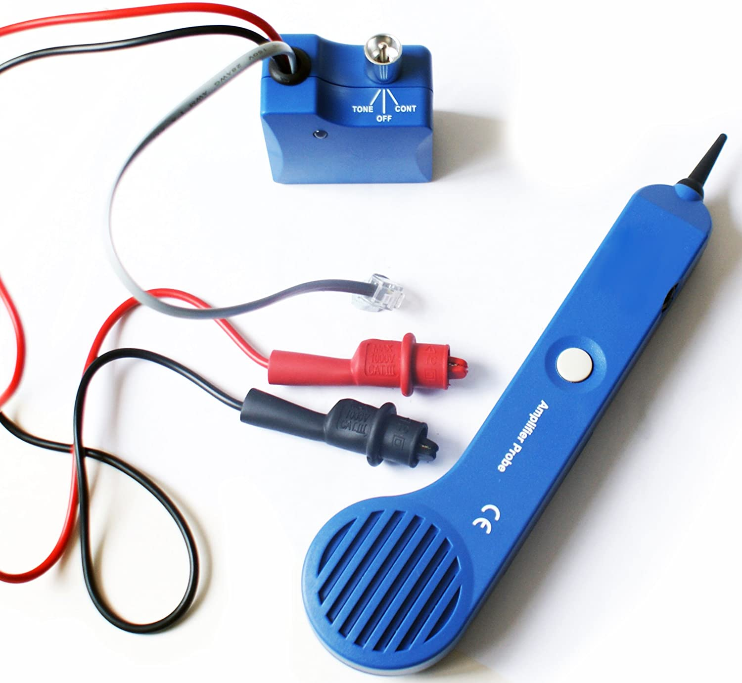 Toner & Probe -Cable/Wire Wall Finder Tracker Tracer- BT, Coaxial ...