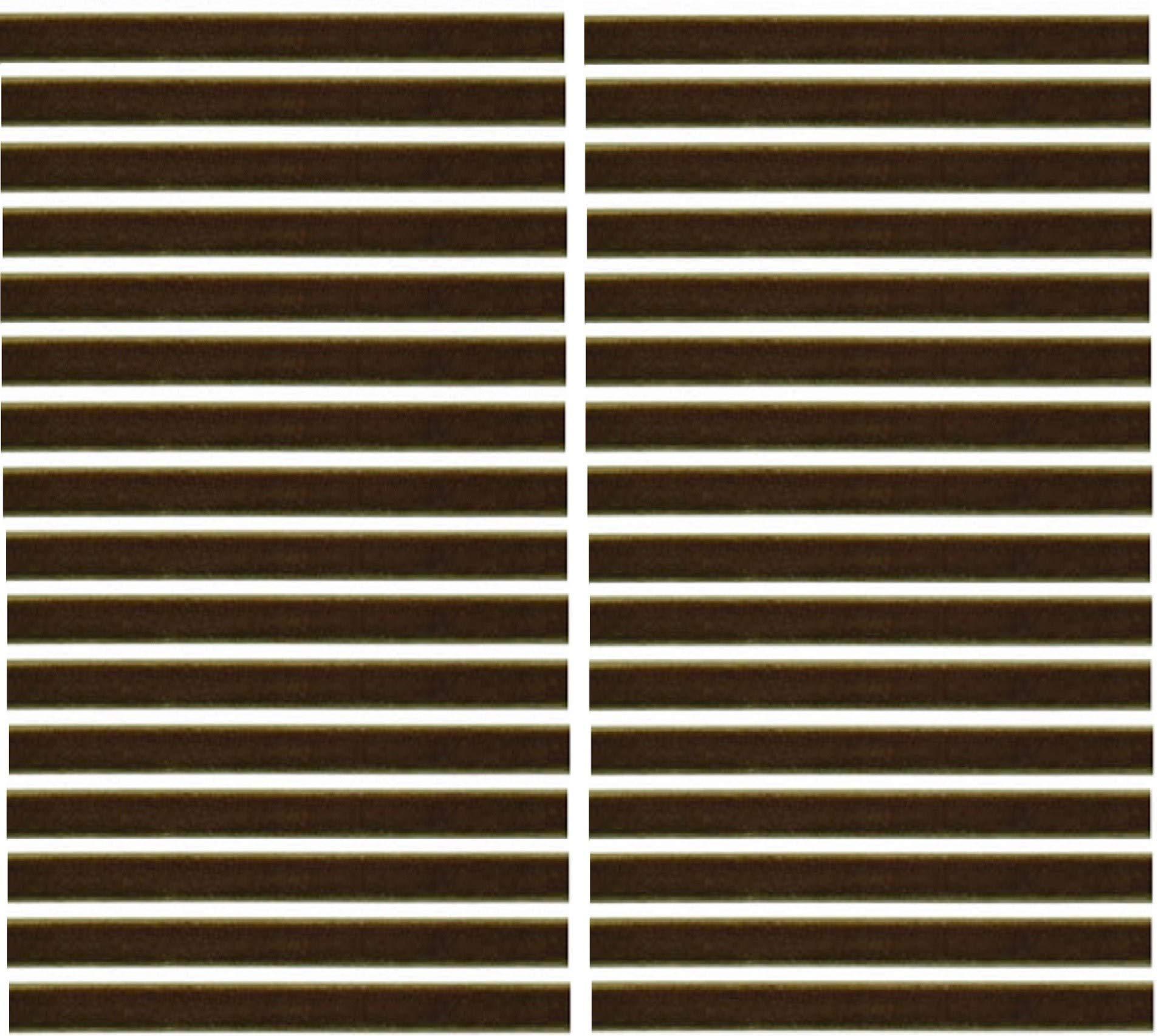 Olive Green Replacement Cleaning Strips (32-Pack) VPI Okki Nokki 3M LP Vinyl Record Album