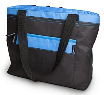 Amazon.com : Freddie and Sebbie Cooler Bag, Insulated Soft Tote ...
