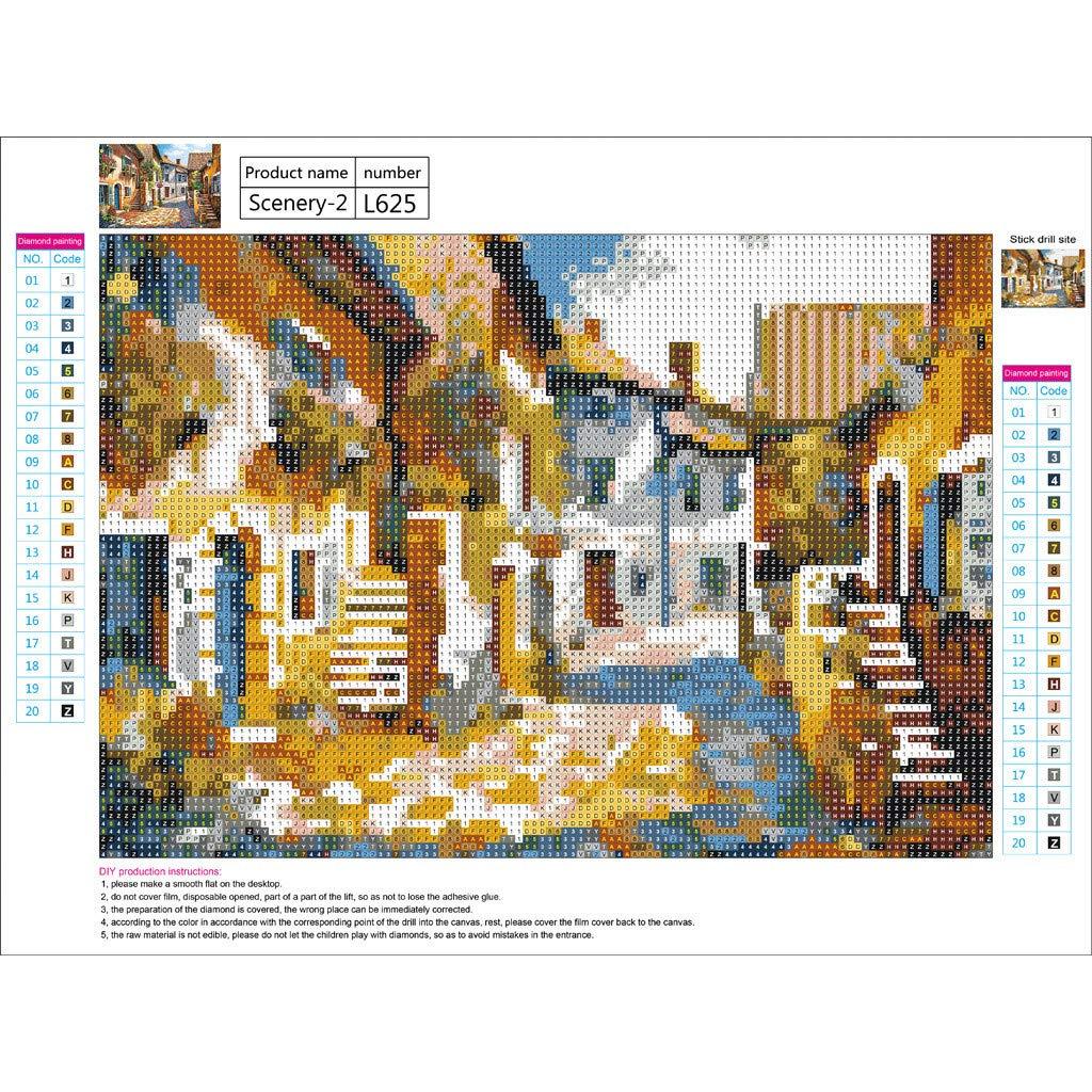Hot!Ninasill Art DIY Manual 5D Stereoscopic Diamond Drawing Seasons Landscape Animal Paintings Furniture Decoration by Ninasill Furniture (Image #2)