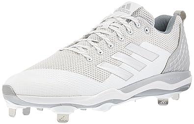 new arrival 0e868 1abc6 adidas Men s Freak X Carbon Mid Baseball Shoe FTWR White, Silver met, Light  Grey