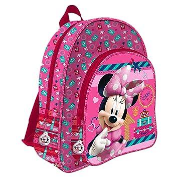 Disney Minnie Mouse AS017/AS9707 - Mochila Infantil, 24 cm: Amazon.es: Equipaje